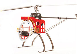 Radio-Controlled Helicopter with Camera or Video