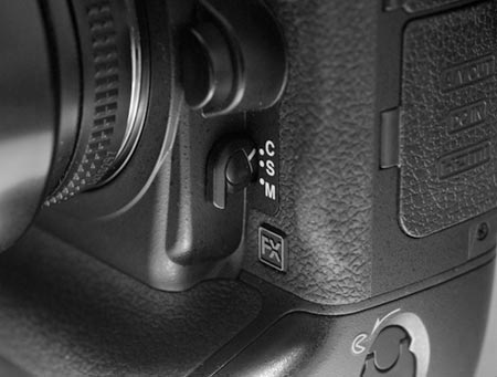 Nikon FRONT Switch