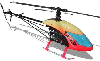 Bergen RC's Tazer 800 Electric Helicopter