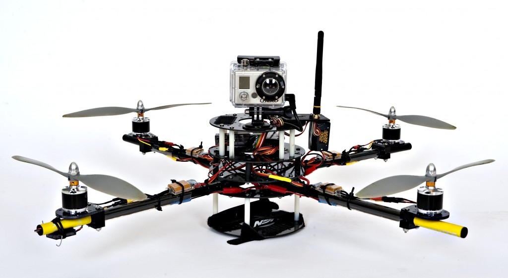 Gaui 500X Motors and Electronics in an AGL Hobbies frame
